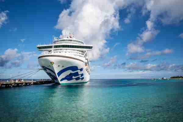 The Princess Cruises ship Grand Princess. (Photo courtesy of Princess Cruises)