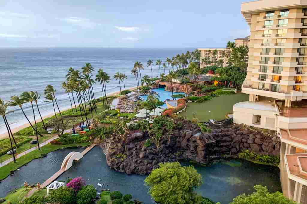 Newly remodeled wing of the Hyatt Regency Maui. (Photo by Clint Henderson/The Points Guy)