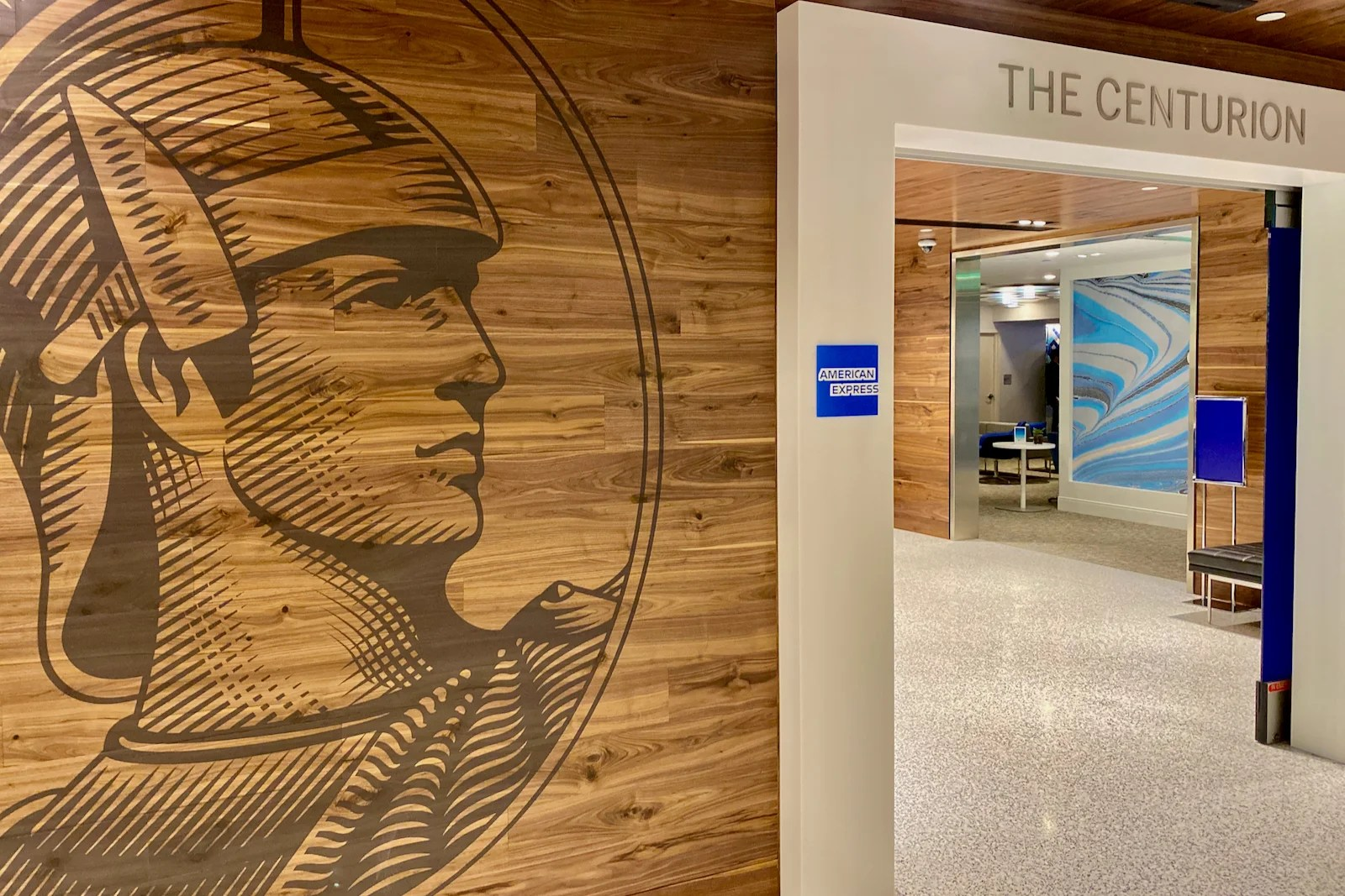 Here's your first look at the brand-new Amex Centurion Lounge in Los Angeles