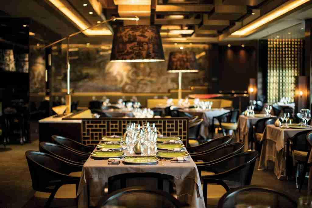 Pacific Rim serves Asian cuisine in a stylish setting. (Photo courtesy of Regent Seven Seas Cruises).