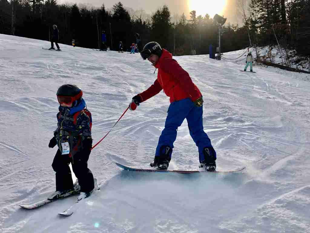 Northeast skiing Attitash Mountain Resort with the Epic Pass (photo courtesy of Jennifer Yellin/DealsWeLike.com)