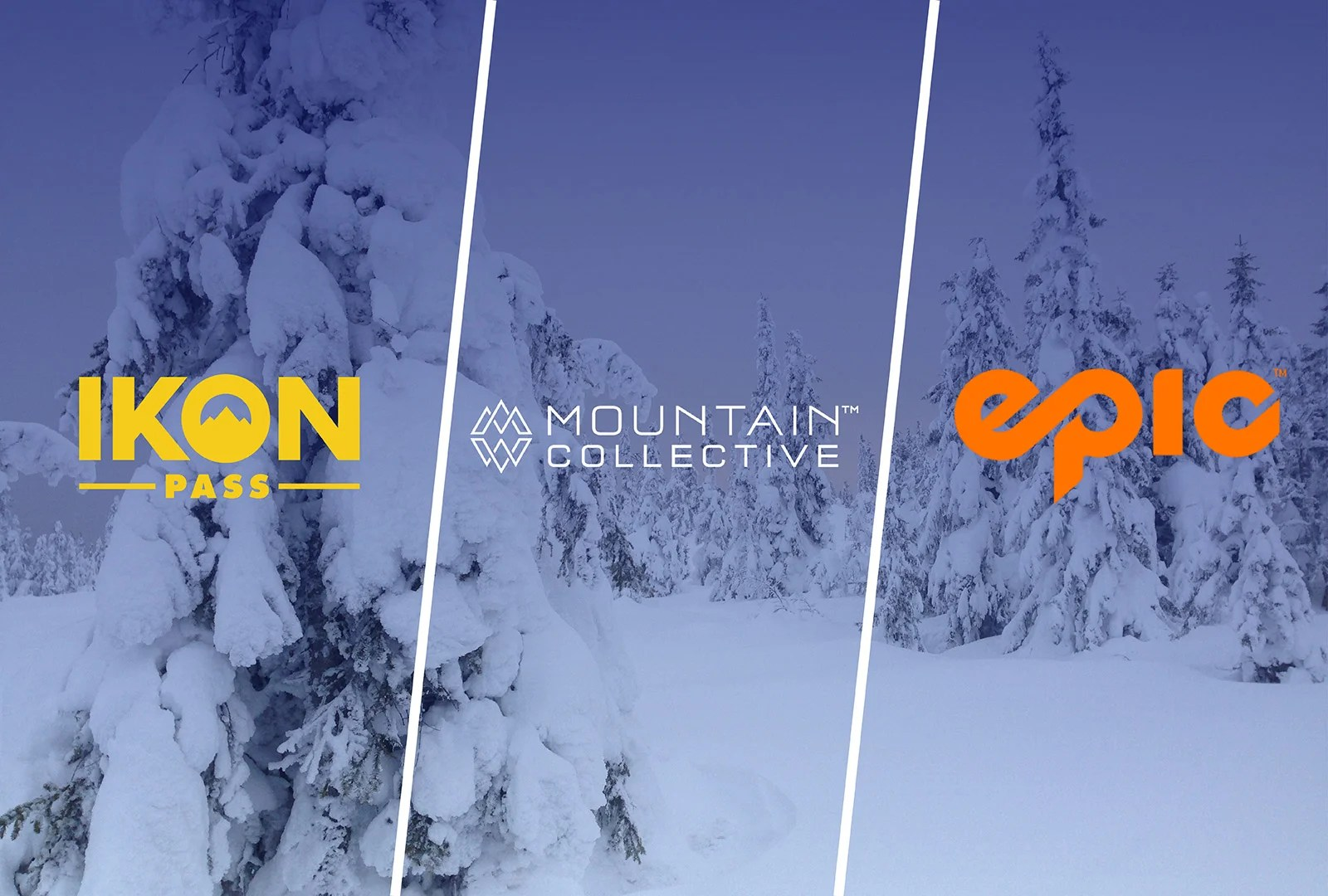 Best Annual Ski Pass: Battle Between Epic, Ikon and Mountain Collective