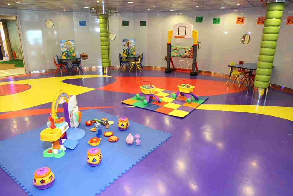 Oasis of the Seas kids club