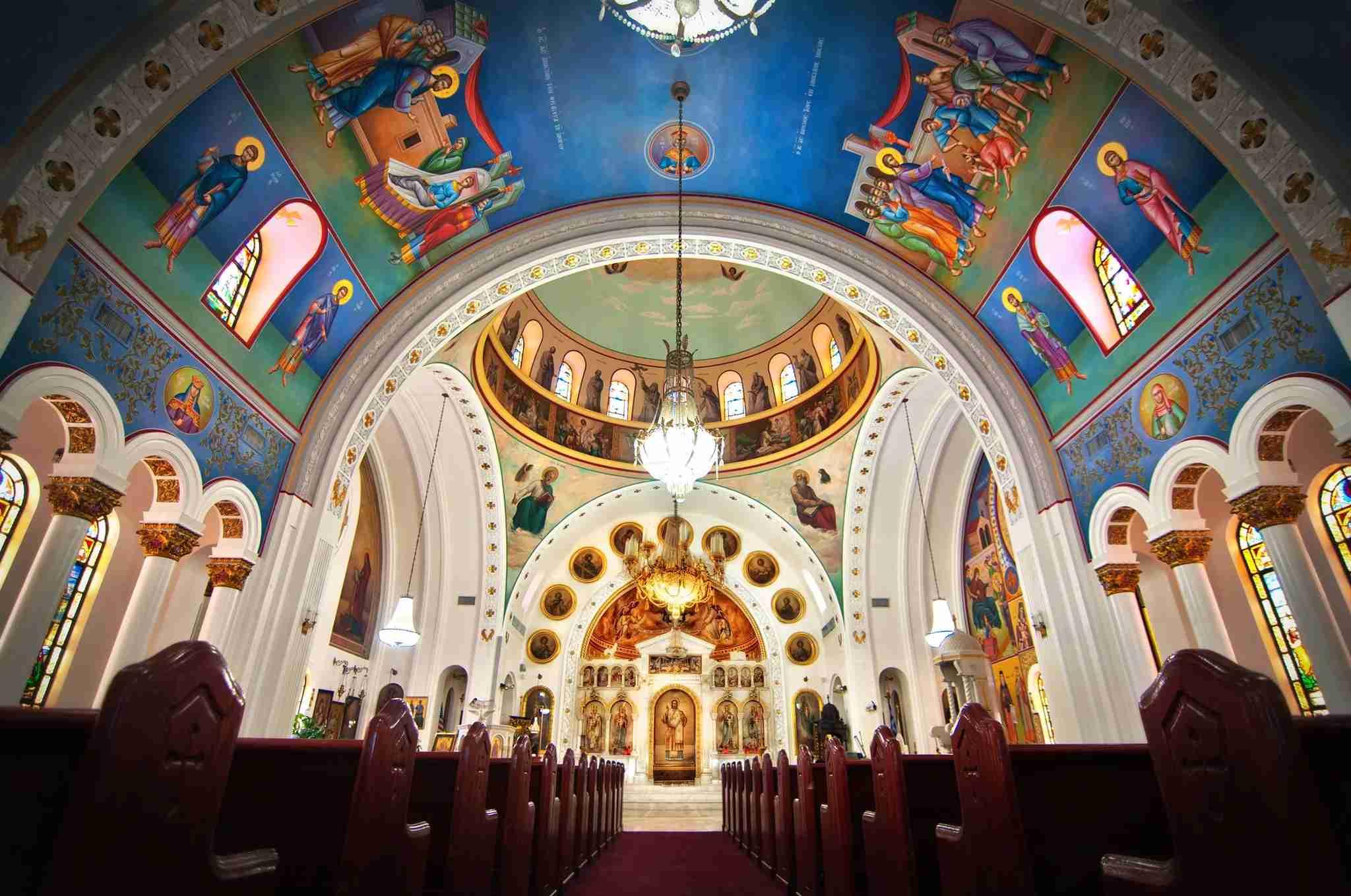 Saint Nicholas Greek Orthodox Cathedral in Tarpon Springs, Florida (Image courtesy of the church