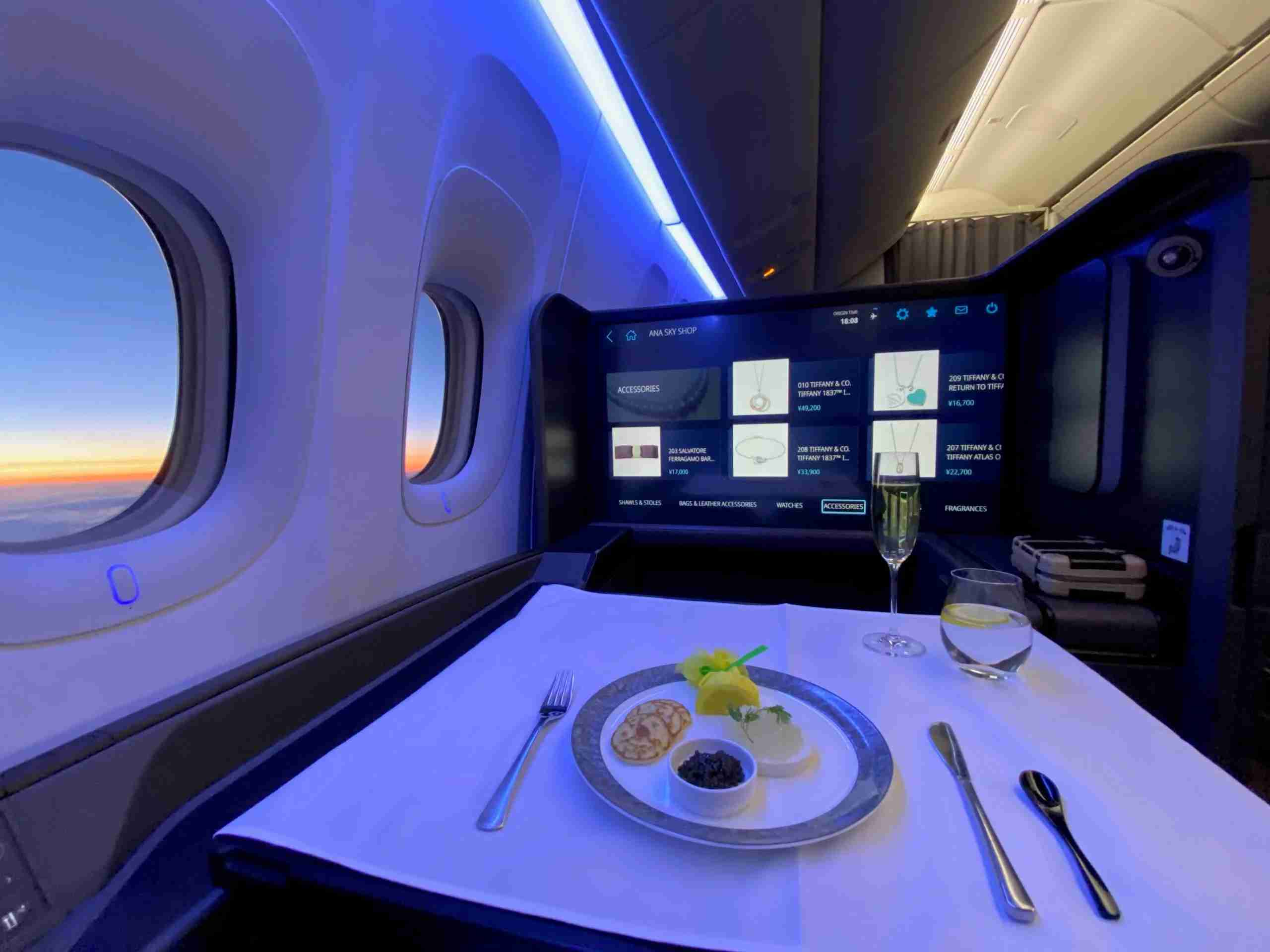 Fly ANA First Class with Avianca LifeMiles (Photo by Chris Dong/The Points Guy)