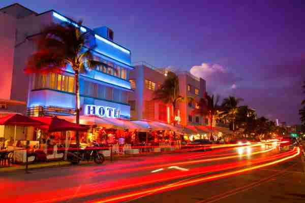 The Art Deco District of South Beach. (Photo by Pgiam/Getty Images)