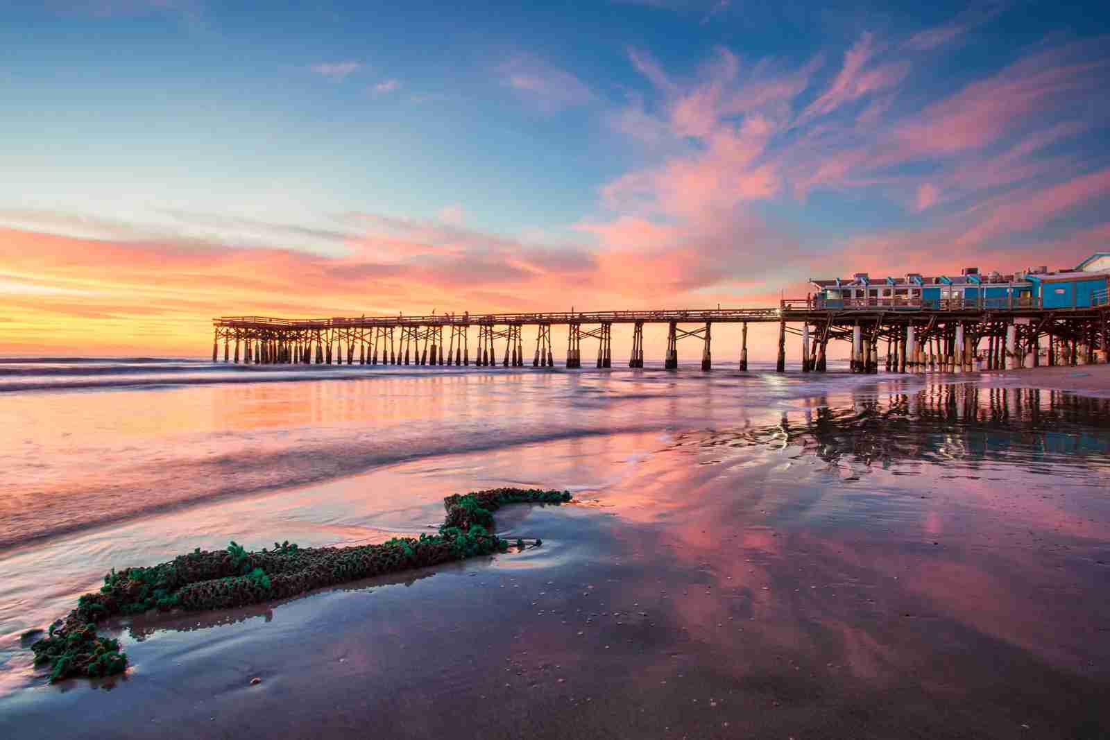 Cocoa Beach Florida with the Cocoa Pier. (Photo by Brad McGinley Photography/Getty Images)