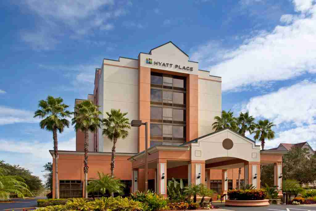 The Hyatt Place Orlando Convention, a Category 2 hotel. (Photo courtesy of Hyatt)