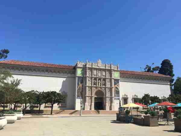 San Diego Museum of Art in August of 2017. (Photo by Clint Henderson/The Points Guy)
