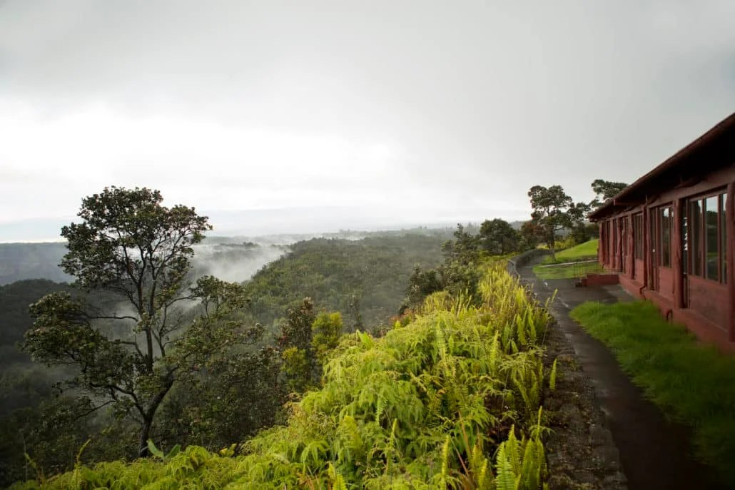 View from the Volcano House (image courtesy of Volcano House)