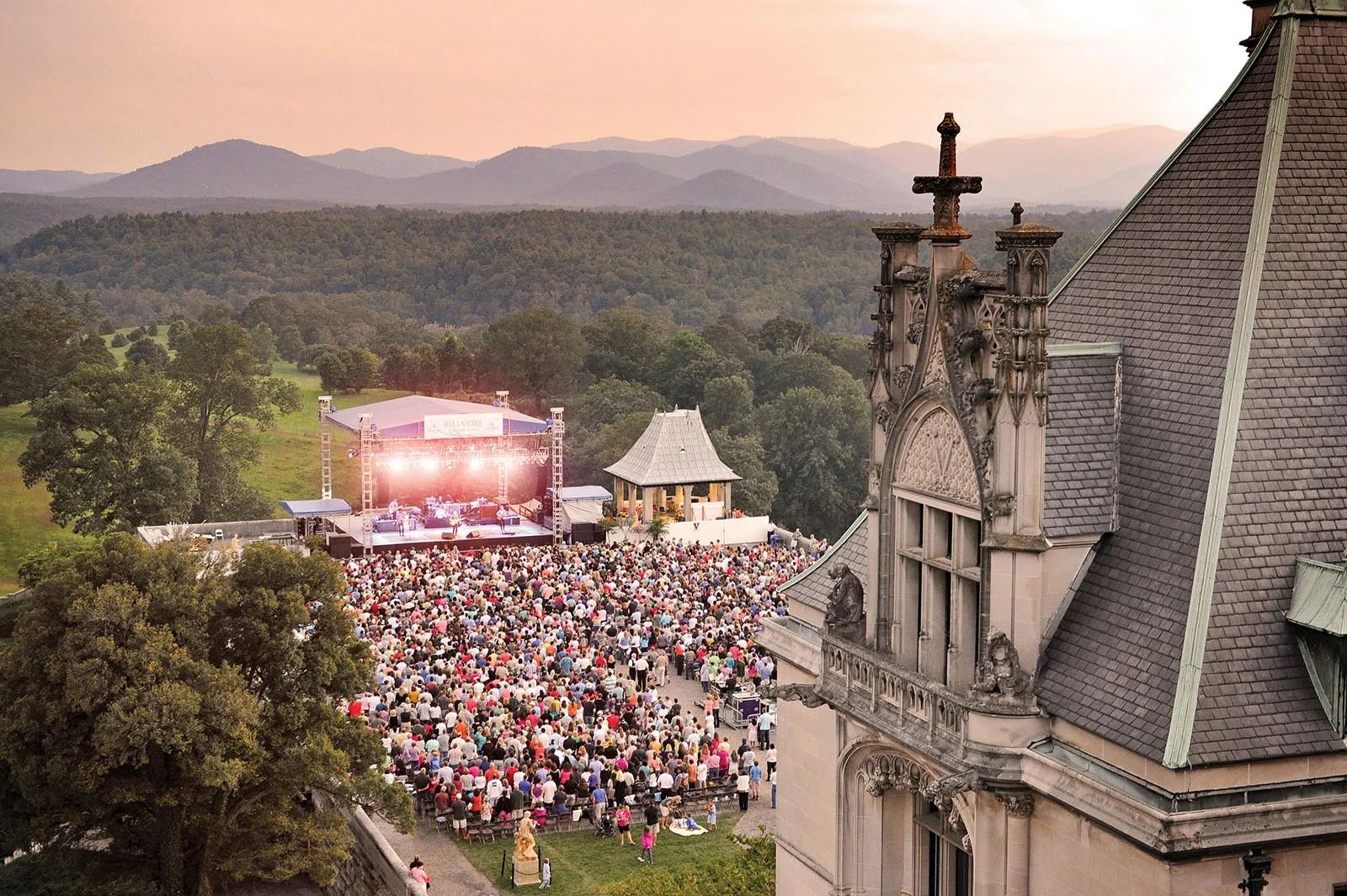 Biltmore estate summer concerts