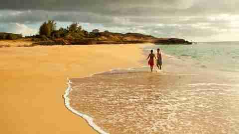 Papohaku Beach, Molokai, Hawaii