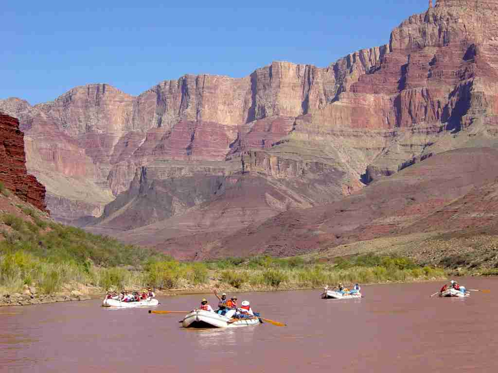 The Colorado River in Grand Canyon National Park (Photo by Michael Quinn/National Park Service)