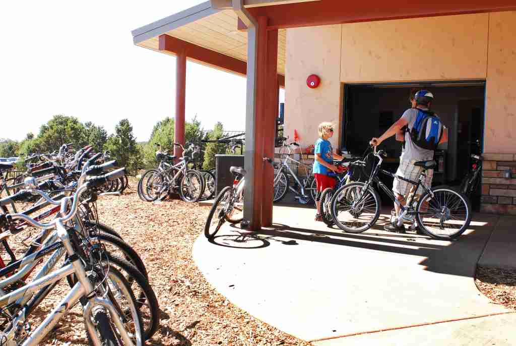 South Rim Grand Canyon bike rentals