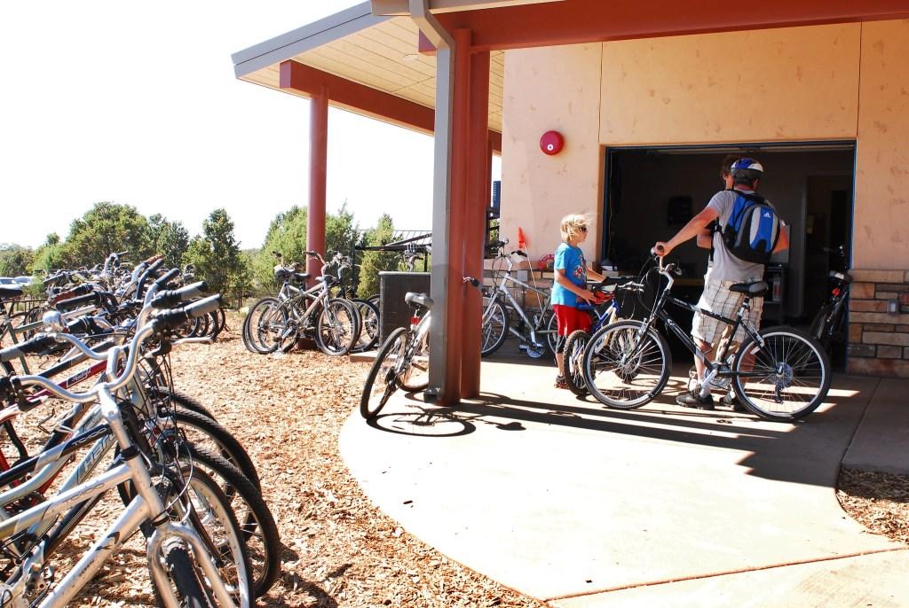 South Rim Grand Canyon bike rentals
