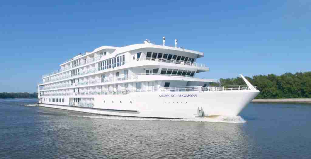 American Cruise Lines hopes to have its 190-passenger American Harmony operating on the Mississippi River by June 28. (Photo courtesy of American Cruise Lines)