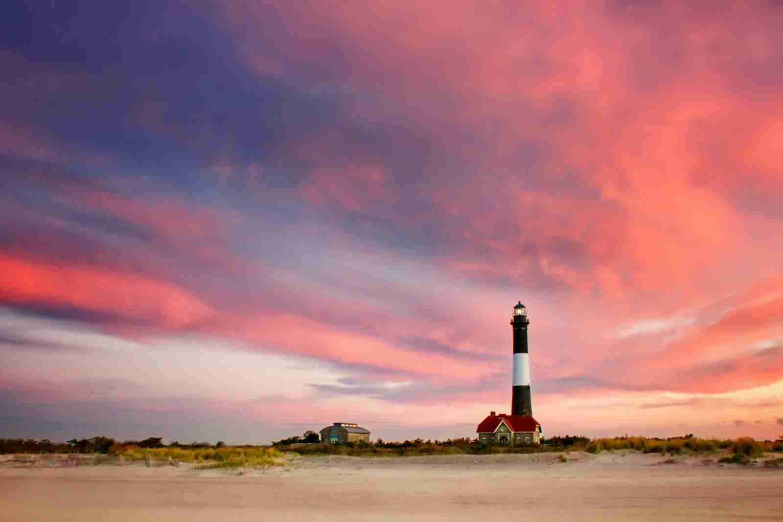 The Fire Island Lighthouse. (Photo by Vicki Jauron Babylon and Beyond Photography/Getty Images)