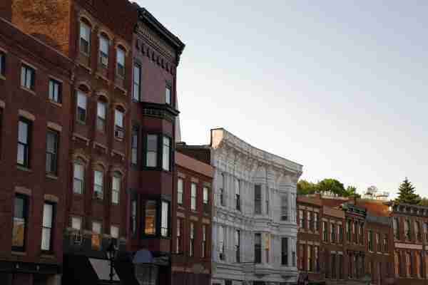 Downtown Galena, Illinois. (Photo by PickStock/Getty Images)