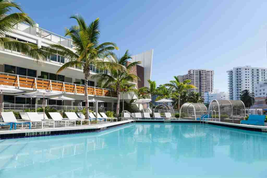 The Gates Hotel South Beach. (Photo courtesy of Hilton)
