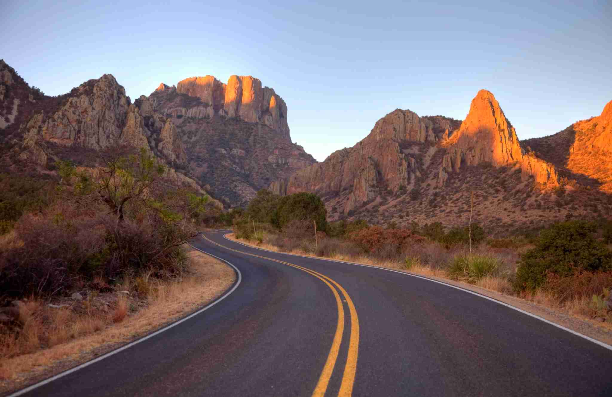 Driving through Big Bend National Park. (Photo by DenisTangneyJr / Getty Images)