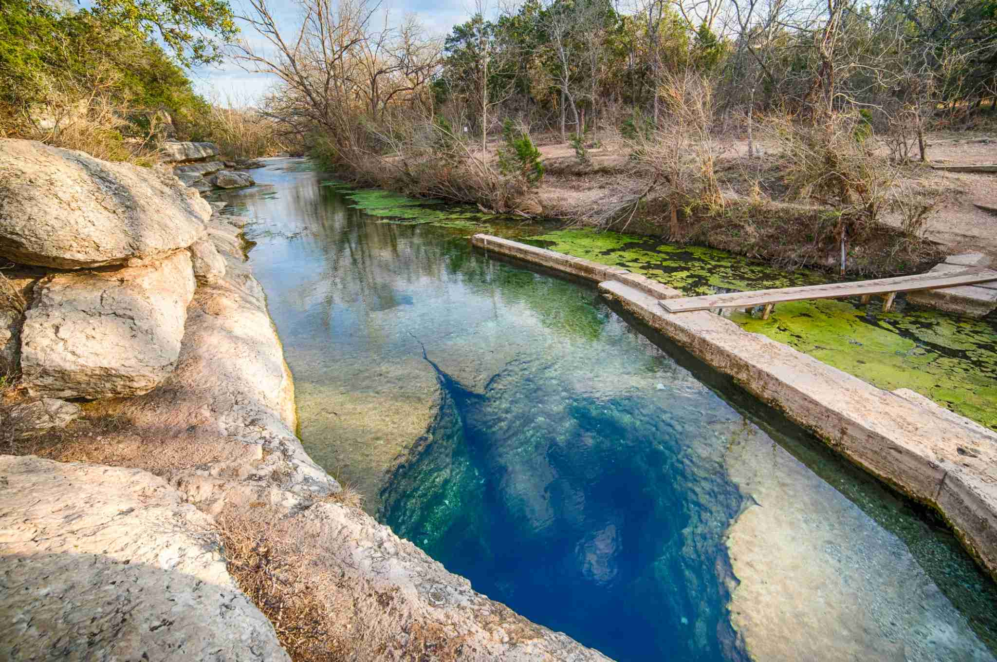 Jacobs Well in the Texas Hill Country (Photo by Wells/Getty Images)