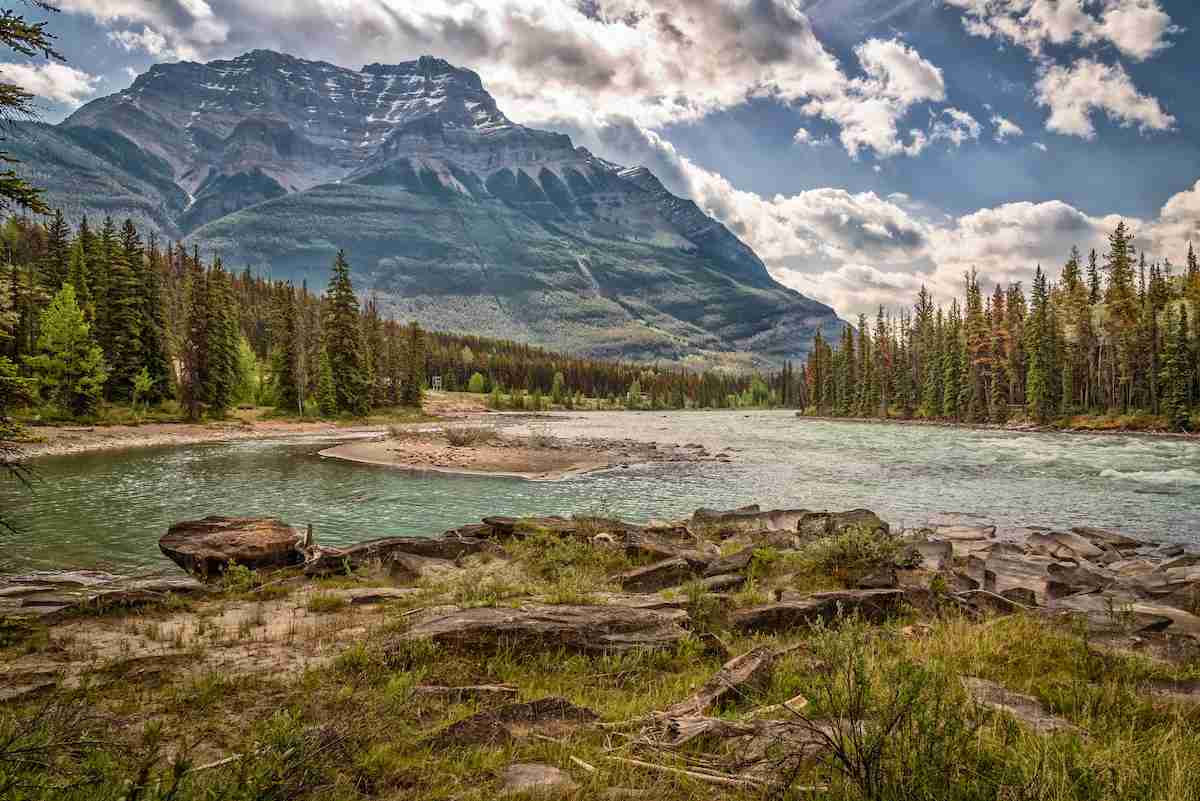 Mountains near Jasper