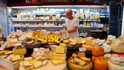 Tel Aviv Carmel Market Israel