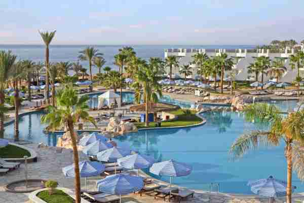 The Hilton Sharm Waterfalls Resort costs 5,000 points/night. Photo courtesy of Booking.com