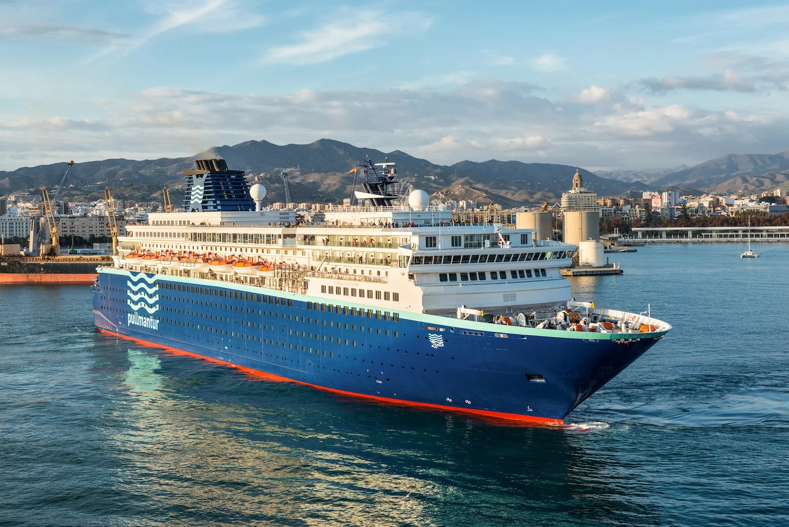 The coronavirus pandemic has claimed its first cruise line