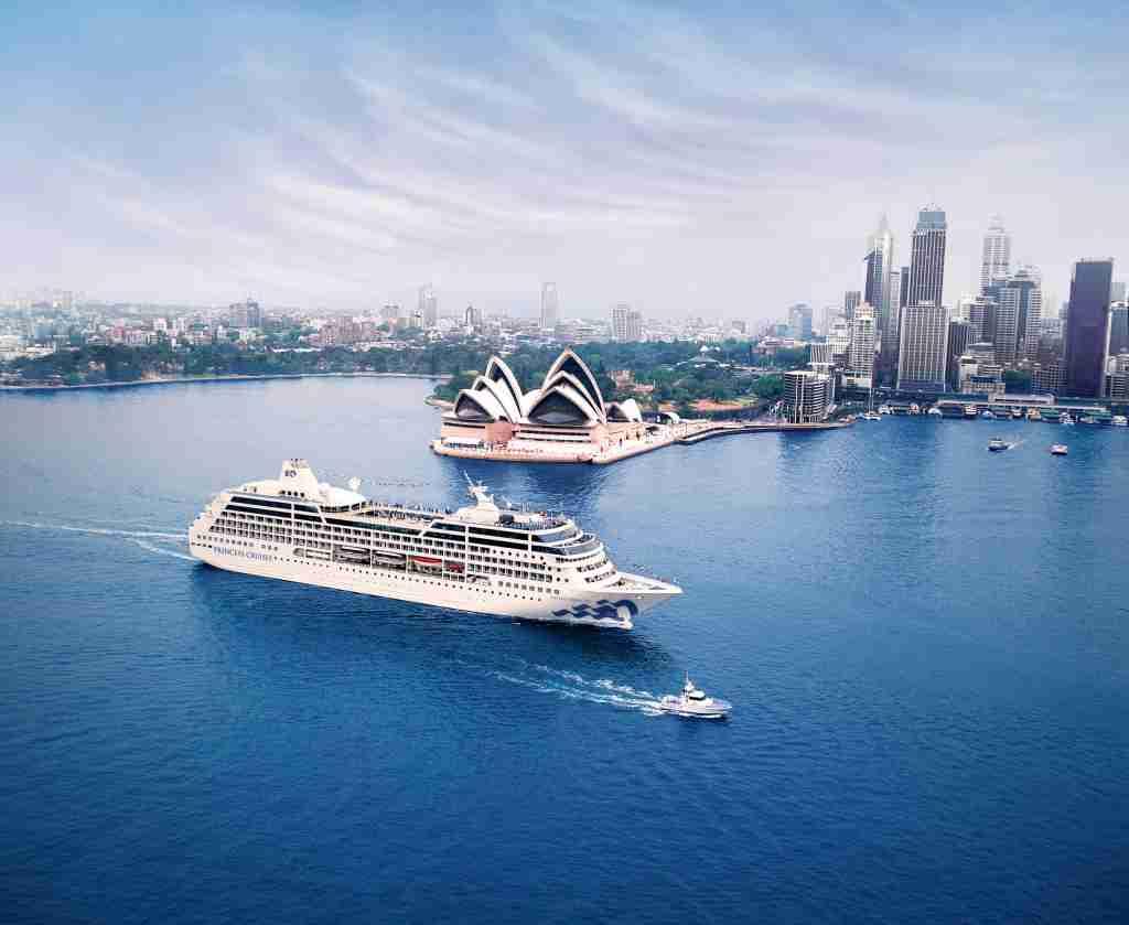 Pacific Princess, Sydney, Australia