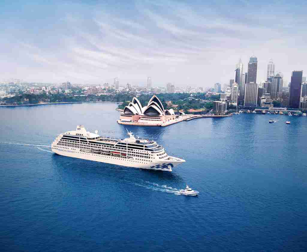 Pacific Princess, Sydney, Australia