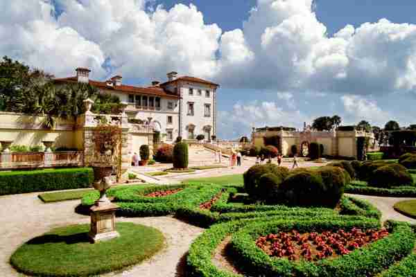 Vizcaya Museum and Gardens in Miami. (Photo by Atlantide Phototravel/Getty Images)
