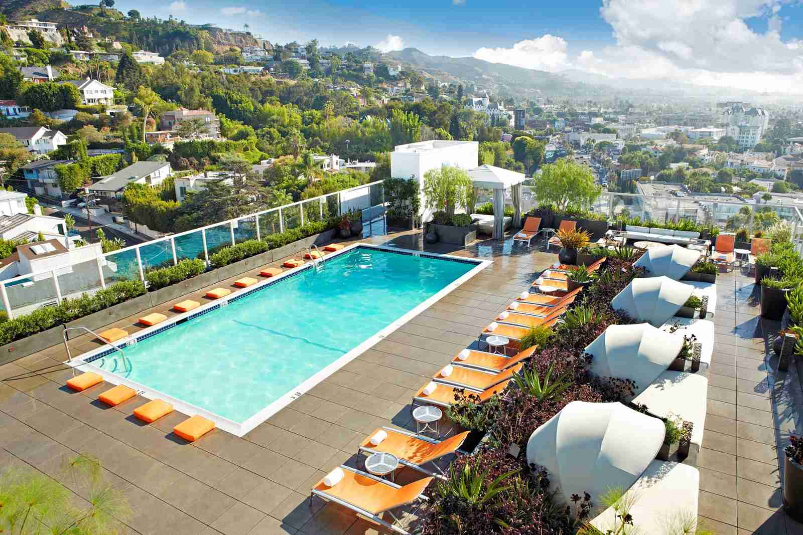 The Andaz West Hollywood. (Photo courtesy of Hyatt)