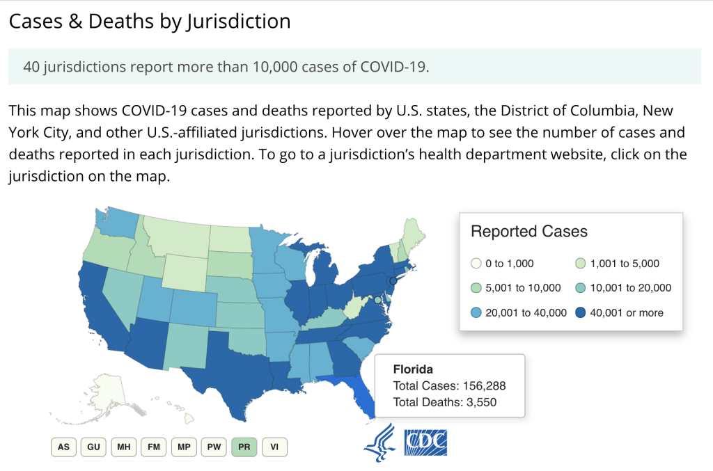 Data and image courtesy of the CDC.