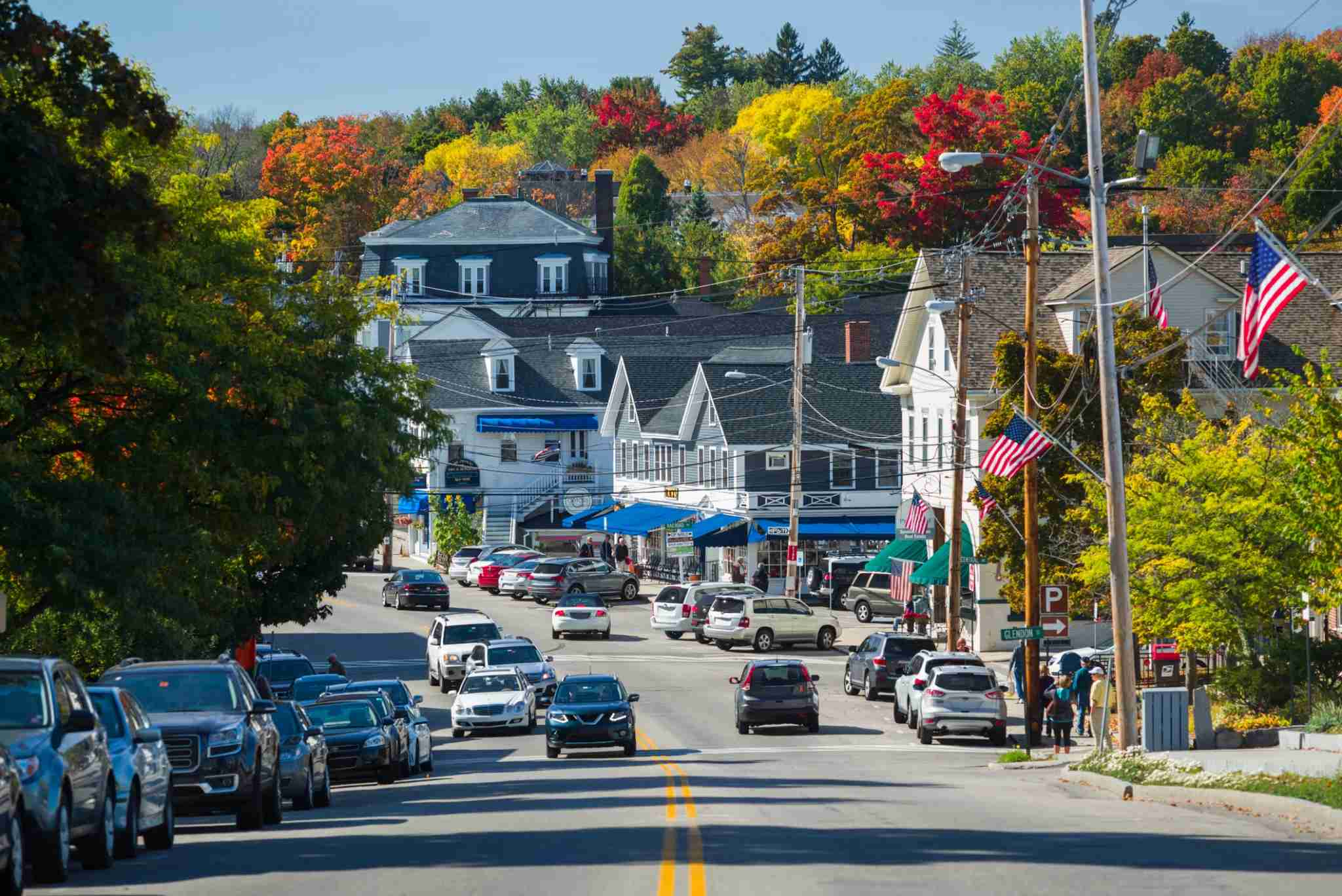 USA, New Hampshire, Lake Winnipesaukee Region (Walter Bibikow/Getty Images)