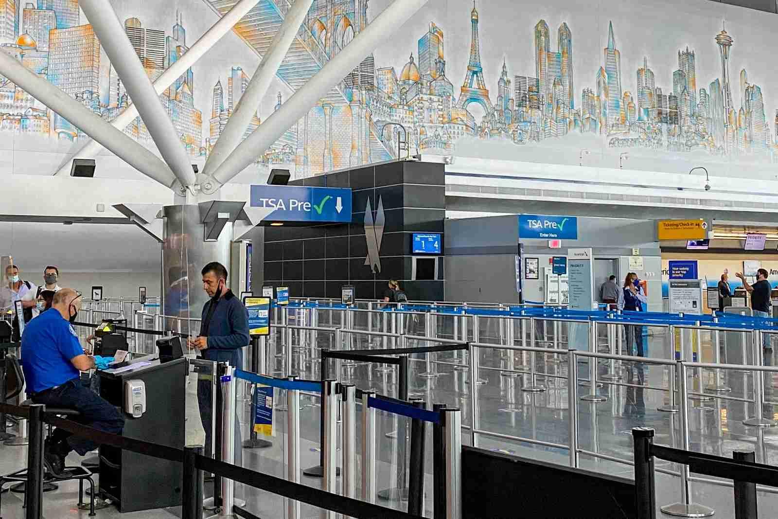 JFK Terminal 8 security