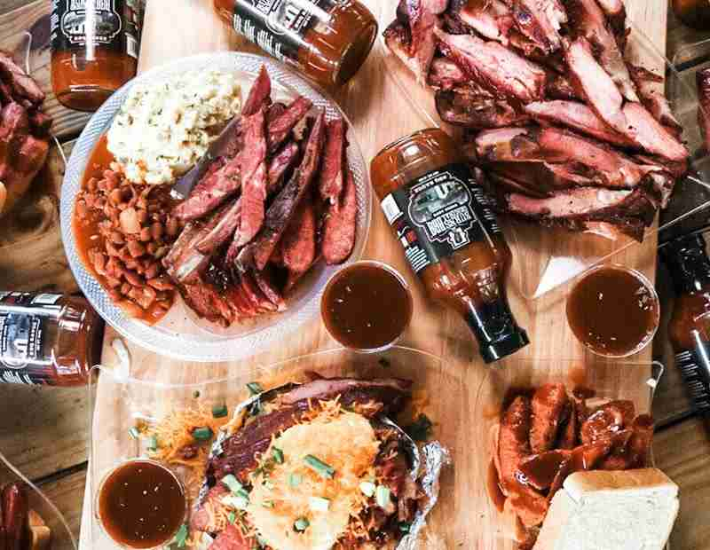 Houston, Texas Burns BBQ