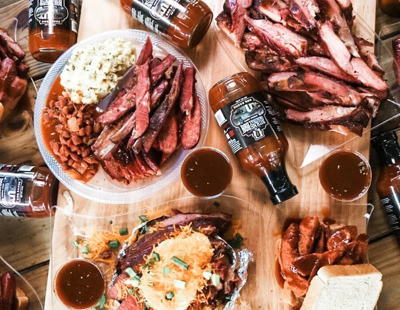 Houston, Texas Burns BBQ