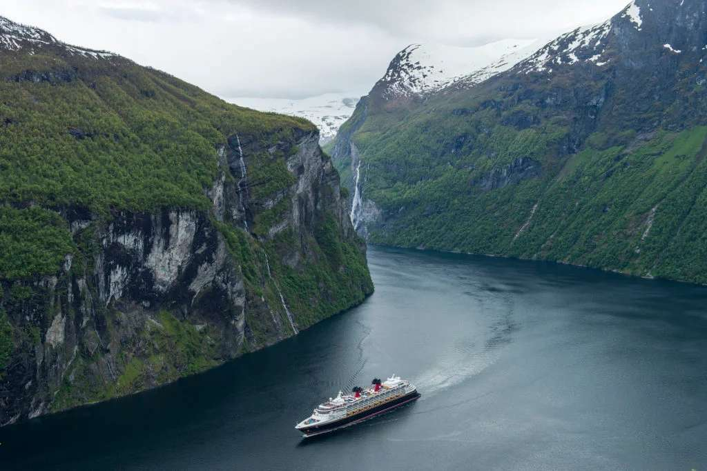 Disney Magic in Norway (Photo courtesy of Disney Cruise Line/Matt Stroshane, photographer)
