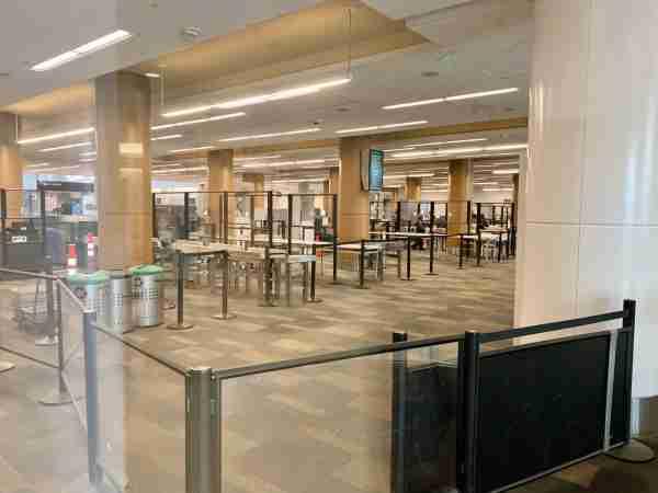 TSA SFO September 2020. (Photo by Clint Henderson/The Points Guy)