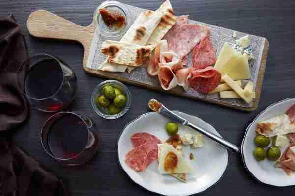 Celebrity Cruises Tuscan Grille antipasto