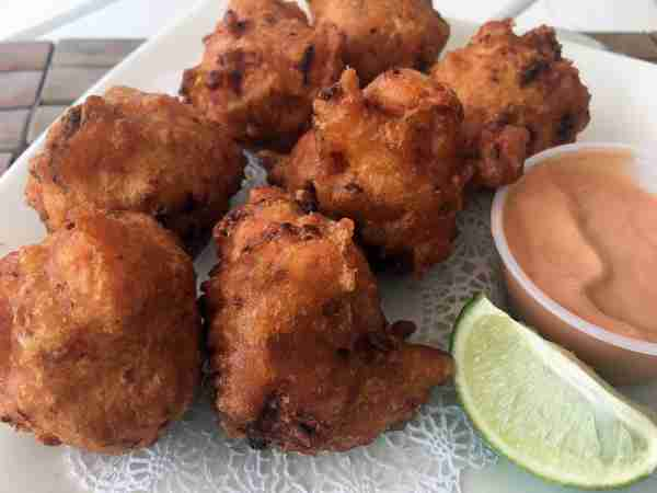 Conch fritters Bahamas