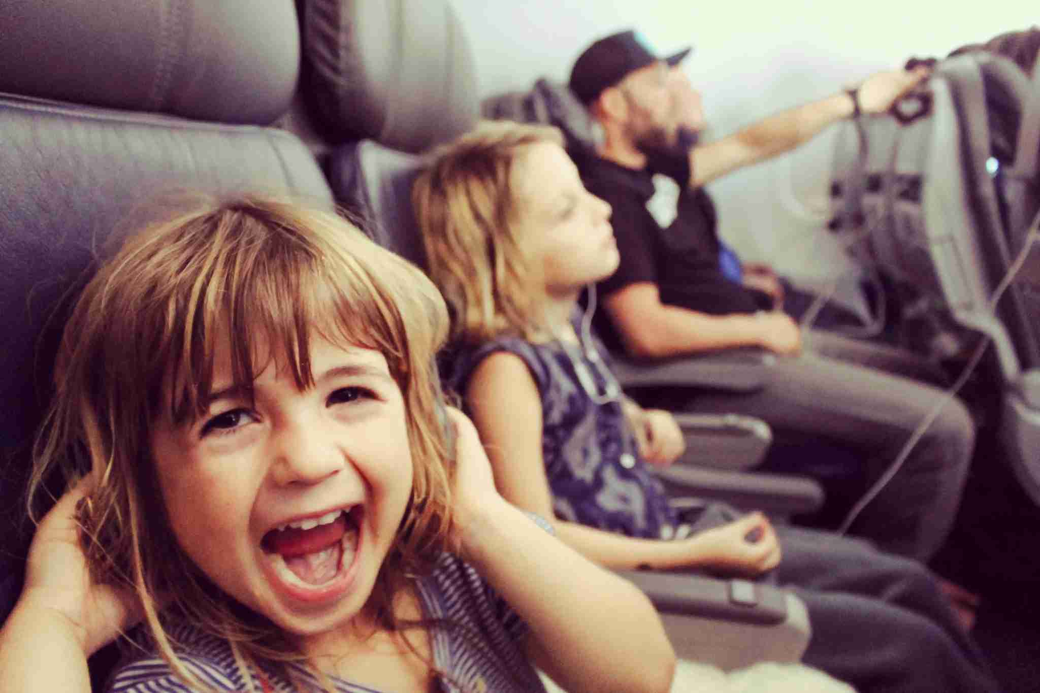 For some TPG Lounge members, seeing kids up front is their biggest nightmare. (Photo by Lisa5201 / Getty Images)