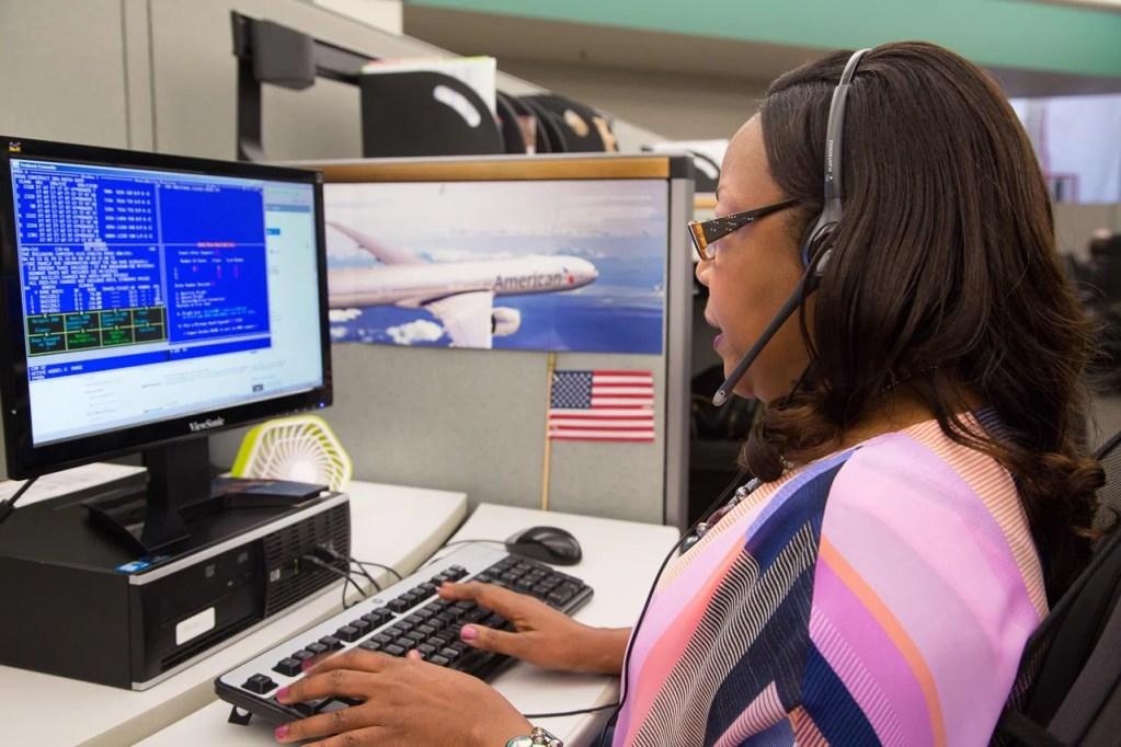 American Airlines representative