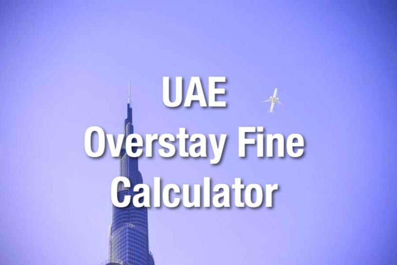 Uae Overstay Fine Calculator The Points Habibi