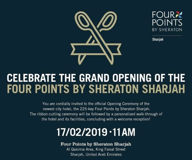 four points by sheraton sharjah opening uae