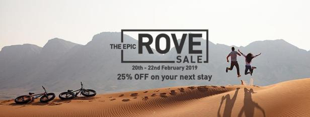 the epic rove sale february dubai uae