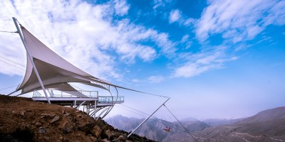jebel jais flight offer longest zipline toroverde ras al Khaimah UAE