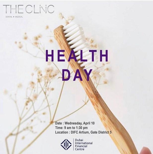 DIFC health camp the clinic dha dubai UAE