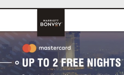 marriott free nights offer bonvoy mastercard middle east africa hotels